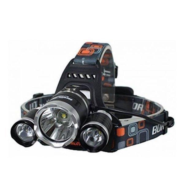 Latarka czołowa LED - 2 akumulatory 1865